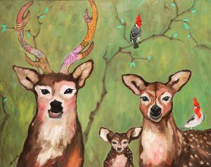 What A Deer Family