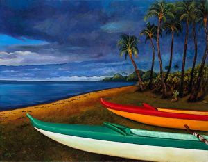 Paddlers Dream (piece 1 of diptych)